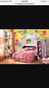Doll House Style Bunk Beds