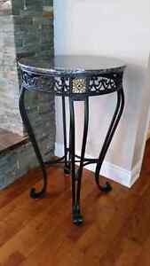 Marble top bar height table. Cornwall Ontario image 2