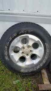 Jeep wrangler tires and rims