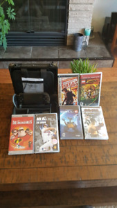 PSP great condition with all accessories and with 5 games and 1