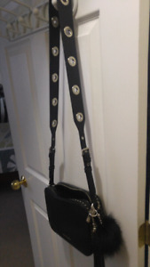 Michael kors Authentic Black Leather purse