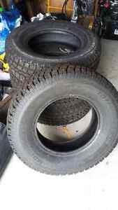 pneus d'hiver cloutés