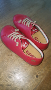 Kids red Camper Peu shoes  brand new never worn 12
