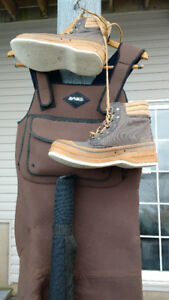 Chest Waders & Felt Bottom Boots