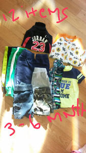 3-6 months boys clothing