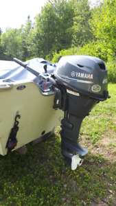 Great working 20hp Yamaha Fourstroke long shaft outboard