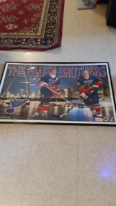 VINTAGE BLUES BROTHERS, GRETZKY/HULL, POSTER;