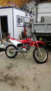 Honda 230 with electric start and lots of accessories works grea