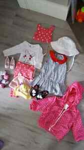 Baby Girl Lot 0-6 months