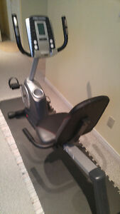 Stationary Recumbent Exercise Bike