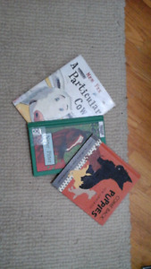 3 Animal bks - Particular cow, Nitter Pitter, Come back puppies
