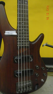 Ibanez 5 string bass.