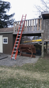 Little Giant 28' Sumo Stance Extension Ladder !!!