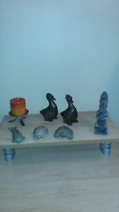 Un lot d'objets en pierre de rivière $10.00 info:418-544-0388