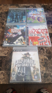Variety of PS3 Games for Sale.