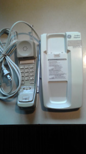 GE 2-9510A Cordless Digital Security Telephone System VTG
