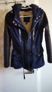 New Womens Hooded Jacket Slim Parka  Overcoat Trench $75