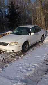 1999 Chevrolet Malibu. 186,000 kms. Works great.