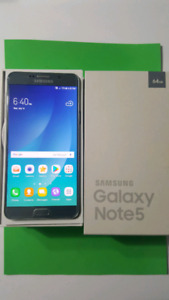 Unlocked Samsung galaxy note 5 64gb