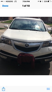 2010 Acura MDX Tech package with Navigation SUV, Crossover