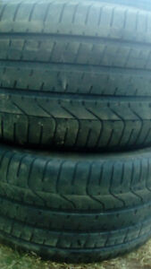 Two 315 35 20 all season tires all season tires,