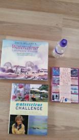 WATERCOLOUR ART BOOKS