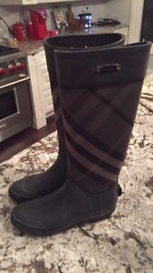 Burberry Clemence Rain/Riding Boots sz 38