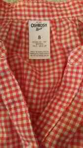 Oshkosh orange gingham blouse London Ontario image 2