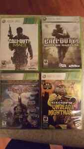 5 - 10 dollar xbox 360 games for sale!!!