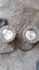 lampe en brass pour jardin d'eau
