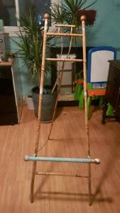 1800's Antique Bamboo Art Easel