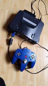 Nintendo 64 controller 2 games .