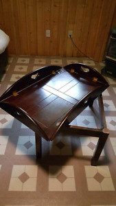 Small coffee table couple of cup stains on the table easy fix