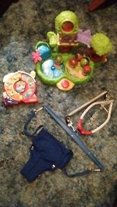 Jolly Jumper (door framee), Rainforest ball toy, wind up toy