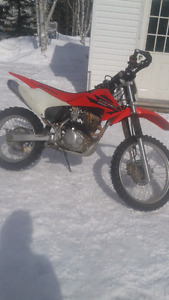2006 crf230f in very good condition !
