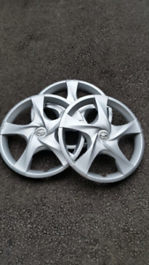"2 used 2011-2015 SCION IQ 16"" 5 spoke wheel covers (hubcaps) $75"