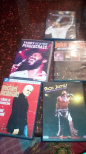 motown/R&B/soul dvds set of 3 or 5