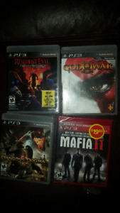 Ps3 games assorted titles