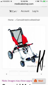 Wheel chair stroller