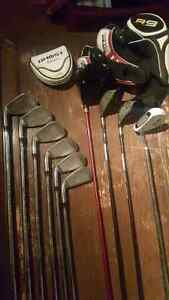 Barely used Taylormade set of RH clubs
