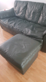 Leather sofa from DFS
