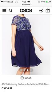 Special occasion maternity dress-size 6.