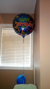 Large foil balloon
