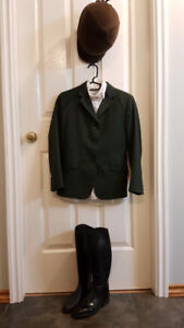 Horse: English show jackets and boots