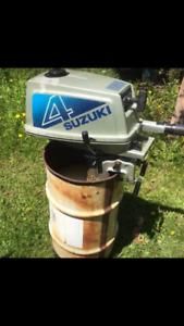 4 hp Suzuki outboard