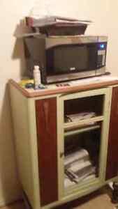 antique wooden cabinet Kingston Kingston Area image 1