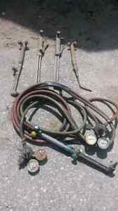 Torch equipment cutting and brazing tips