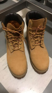 Brown Timberland Boots. 10.5