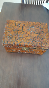VINTAGE JEWELERY WOODEN BOX