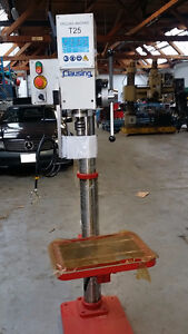 Clausing Gearhead drill 1.25 hp 220 /3 phase new